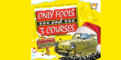 ONLY FOOLS & THREE COURSES CHRISTMAS SPECIAL WITH DISCO