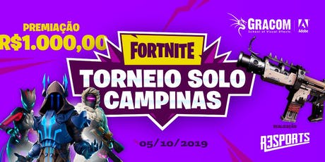 Fortnite Solo Campinas - Torneio Round 1 ingressos