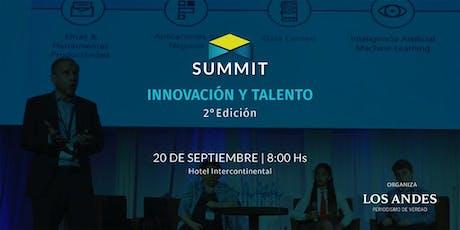 Summit Los Andes - Innovación y Talento entradas
