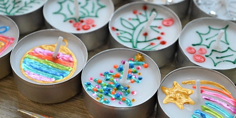 Christmas Card & Tea Light Design Workshop tickets