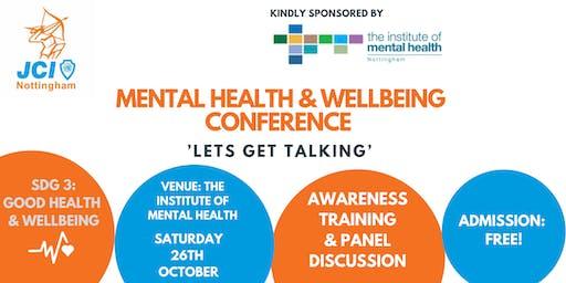 Mental Health Conference - 'Lets get talking'