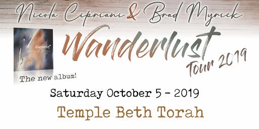 Nicola Cipriani and Brad Myrick - Live at Temple Beth Torah