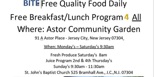 Free Breakfast/Lunch Food Distribution