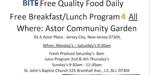 Free Breakfast/Lunch Food Distribution