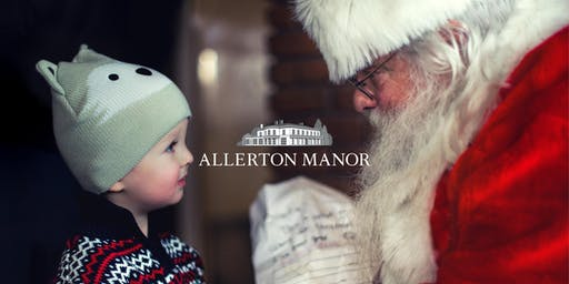Breakfast with Santa at Allerton Manor
