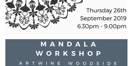Mandala Workshop with Cathy Gray Ink Work tickets