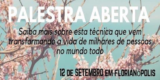 Florianópolis: 12/09 – Palestra aberta sobre Thetahealing