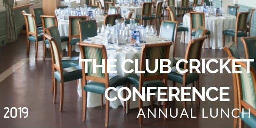 The Club Cricket Conference Annual Lunch with Cedar