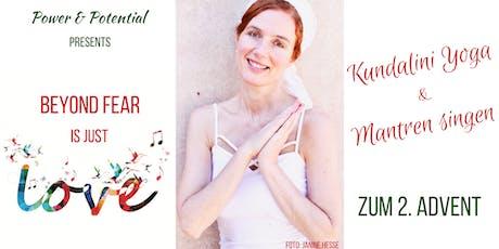 Kundalini Yoga & Mantren Singen zum 2. Advent mit ätherischen Ölen Tickets