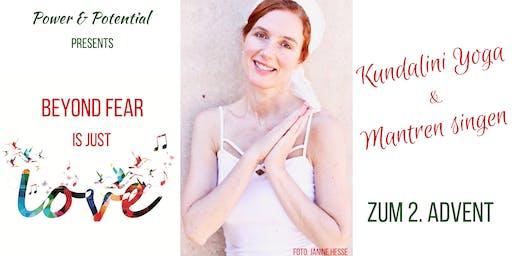 Kundalini Yoga & Mantren Singen zum 2. Advent mit ätherischen Ölen