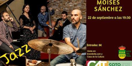 """Concierto Jazz Moisés P. Sánchez Project """"There's entradas"""