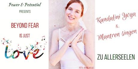 Kundalini Yoga & Mantren Singen mit ätherischen Ölen tickets