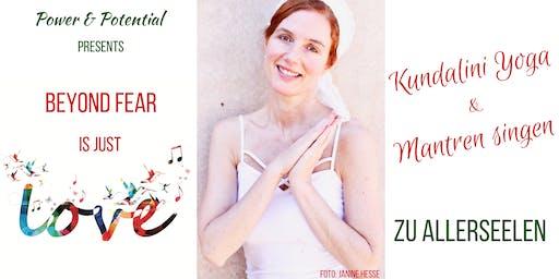 Kundalini Yoga & Mantren Singen mit ätherischen Ölen