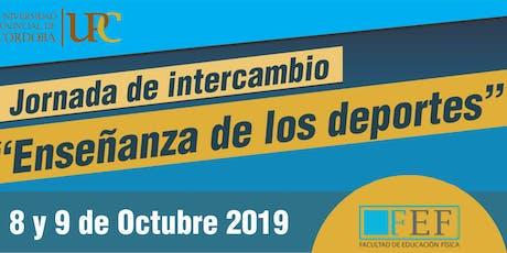 """1° Mod(8/9 Turno Mañana)Jornada de Intercambio """"Enseñanza de los Deportes"""" entradas"""