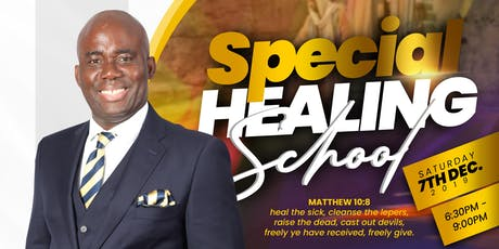 SPECIAL HEALING SCHOOL tickets