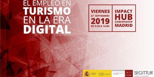 """Jornada """"El empleo en turismo en la era digital"""""""