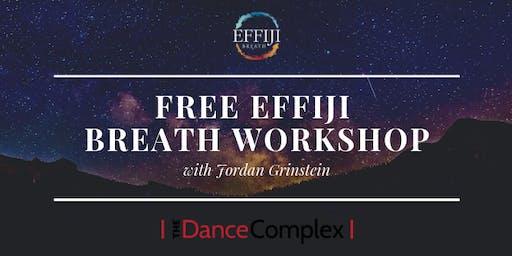 Free transformational workshop: Effiji Breathwork