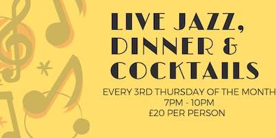 Live Jazz Dinner at Stag Ashford