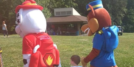 Paw Patrol Takes Over Shelby City Park