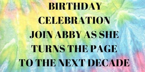 TURN THE PAGE BIRTHDAY CELEBRATION