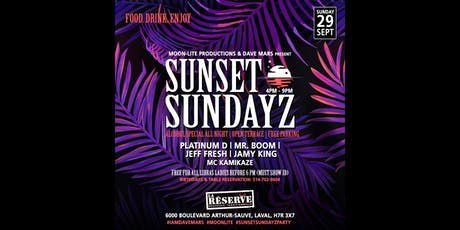 Sunset Sundayz (Day Party) billets