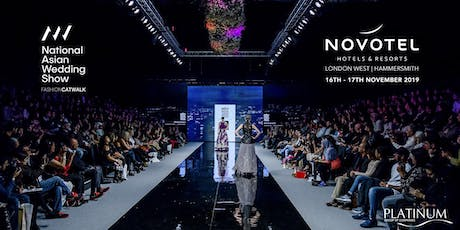 The National Asian Wedding Show London Fashion Catwalk tickets