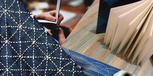 Open Studio - from Sashiko to Bookbinding