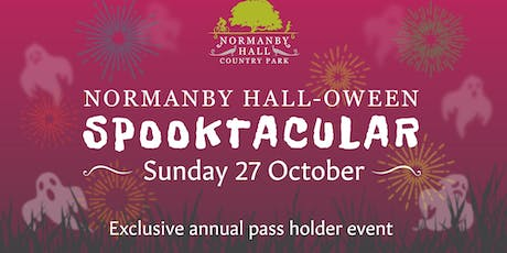 Normanby Hall-oween Spooktacular - Annual Pass Holder Car Parking Ticket  tickets