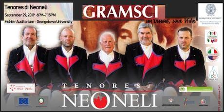 "Tenores di Neoneli - traditional Sardinian ""a tenore"" singing tickets"