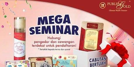 Gold Seminar Emas Kuching Branch 26/9/2019 tickets