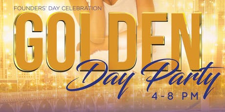 Alpha Omicron Sigma Golden Day Party tickets