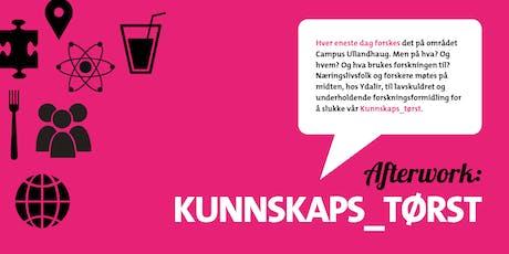 Kunnskaps_tørst /Afterwork i innovasjonsparken 17. oktober tickets