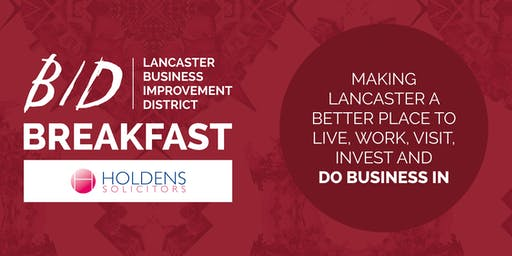 Lancaster BID Breakfast