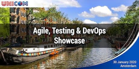 Agile, Testing and DevOps Showcase  tickets