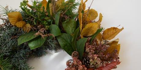 Rustic Indoor Wreath Workshop tickets