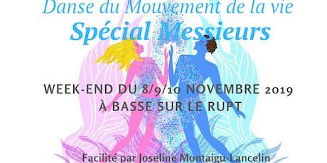 """Intensif Danse du Mouvement de La vie """"SPÉCIAL MESSIEURS"""" billets"""
