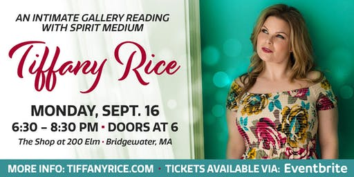 Intimate Gallery Reading with Tiffany Rice