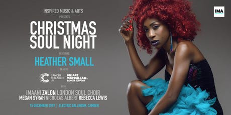 Christmas Soul Night featuring Heather Small tickets