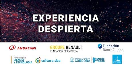 Experiencia Despierta en Córdoba entradas
