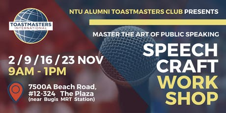 Speechcraft Workshop - Master The Art Of Public Speaking tickets