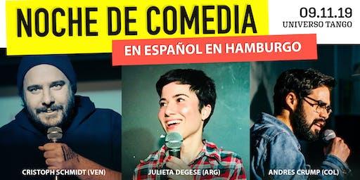 Noche de Comedia en Español en Hamburgo.
