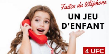 LONGUEUIL - Faites du téléphone un jeu d'enfant tickets