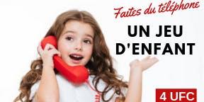 LONGUEUIL - Faites du téléphone un jeu d'enfant