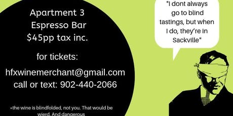 Blind Tasting by HFX Wine tickets