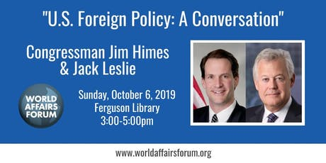 U.S. Foreign Policy: A Conversation tickets