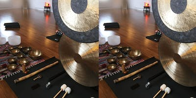 Gong Bath & Sound Journey: Dive Into Deep Relaxation
