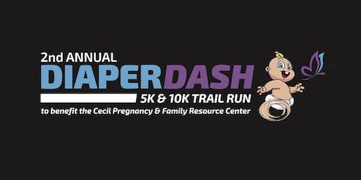 2nd Annual Diaper Dash 10K/5K Trail Run