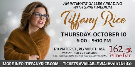Intimate Gallery Reading  with Tiffany Rice at 1620 Wine Bar tickets