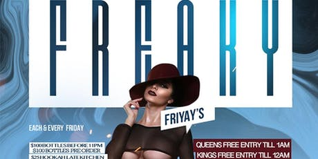 """FREAKY FRIYAY'S"" AT THE JUICY BOX BAR tickets"