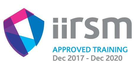 IIRSM Approved Stress Awareness - Physical, Mental and Emotional Wellbeing Training course tickets